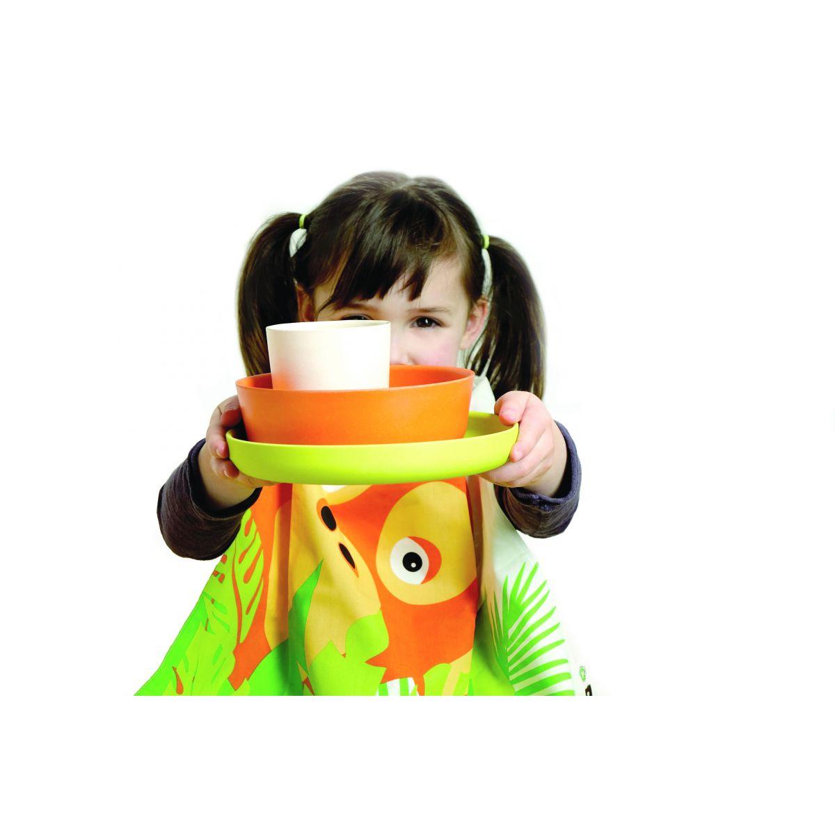 Set repas cologique pour enfant orang outan sebio - Repas pour les enfants ...