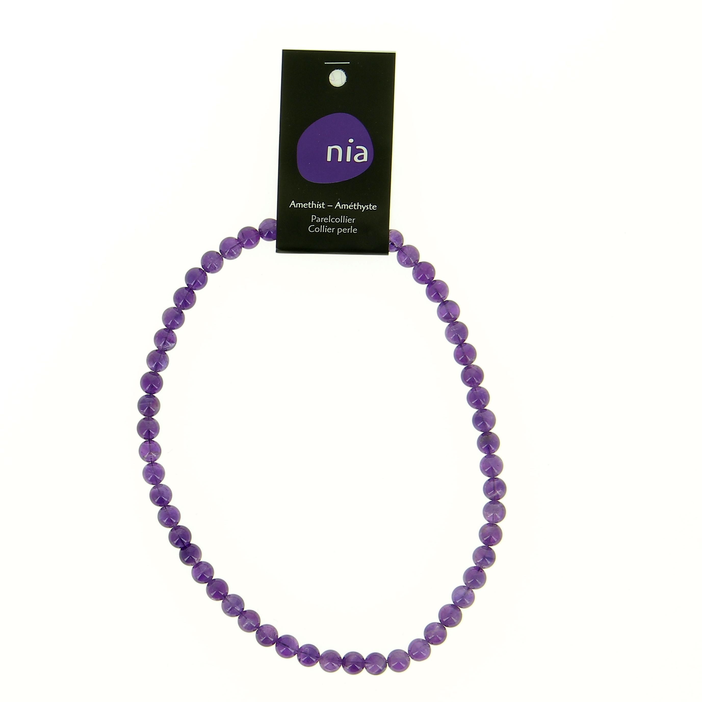 collier perle 40 cm