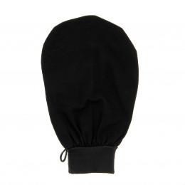 Gant noir pour gommage