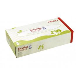 Mouchoirs en papier recyclé  - Boîte de 100