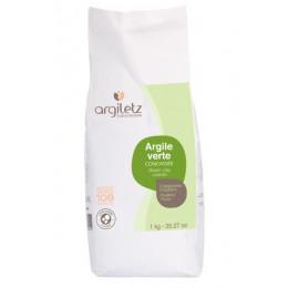 Argile Verte Concassée - 1 kg