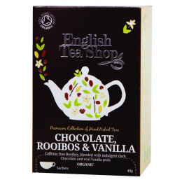 Rooibos chocolat vanille BIO - 20 infusettes