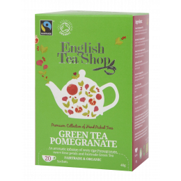 Thé vert grenade Bio et Fairtrade 20 infusettes