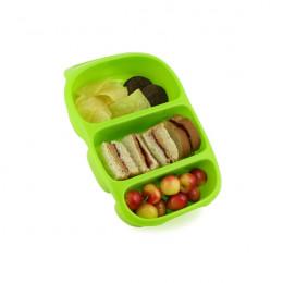 Bynto Récipient pour aliments avec poignée et 3 compartiments