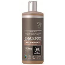 Shampooing pour cuir chevelu sec au sucre brun BIO 500 ml