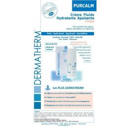 PurCalm - Crème fluide Hydratante Apaisante