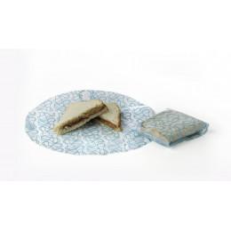 Emballages alimentaires réutilisables Kozy Wrap Cristal Azur ( 2 pièces )