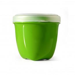 Boîte conservation - matériaux recyclés 235 ml - Verte