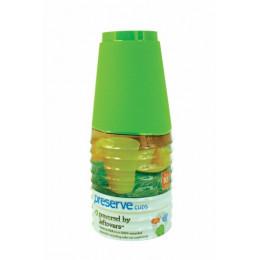 12 verres réutilisables matériaux recyclés