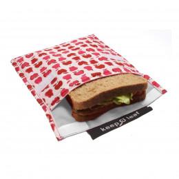Pochette pour goûters et sandwiches - Robots *