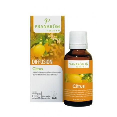 Synergie d'huiles essentielles pour diffuseur - Citrus - 30 ml