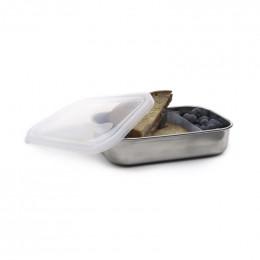 Boîte en inox avec séparateur de compartiment - 740 ml