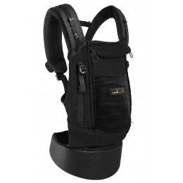 PhysioCarrier cuir artificiel noir et poche noir *