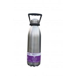 Bouteille isotherme en inox 1,5 l