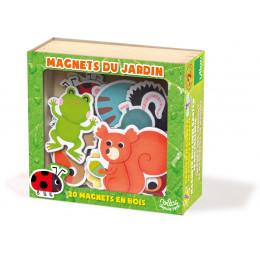 Magnets du jardin en bois - à partir de 2 ans