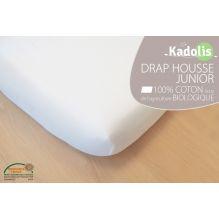 19ed9ec3875a Drap Housse en Coton Bio - Pour lit simple 90x190 cm