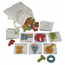 Alphabet animalier anglais A-Z - à partir de 2 ans