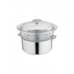 Elément cuit-vapeur en verre - 24 cm