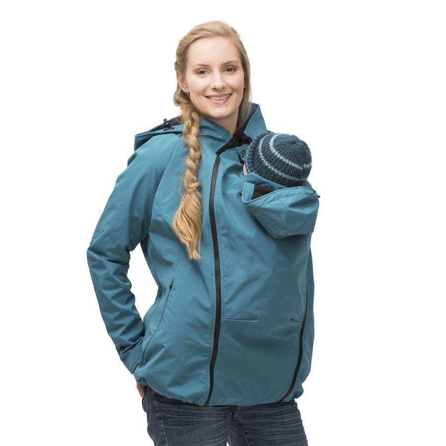 Manteau de grossesse et de portage en laine - Anthracite - Sebio b668a73b81c