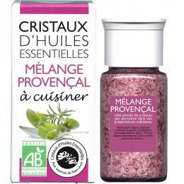 Cristaux d'huiles essentielles à cuisiner - mélange provençal - 10 g