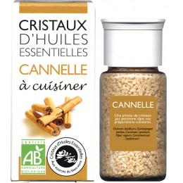 Cristaux d'huiles essentielles à cuisiner - cannelle - 10 g