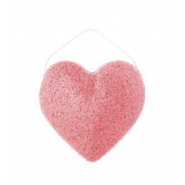 Eponge Konjac rose - hydratante et tonifiante