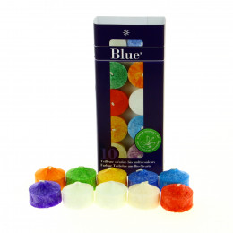 10 veilleuses multicolores