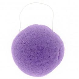 Eponge Konjac ronde - Violette / peaux sensibles