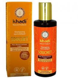 Shampooing ayurvédique au souchet - cheveux normaux à gras - 210 ml