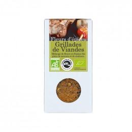 Fleurs d'épices : grillades de viandes - 75 g