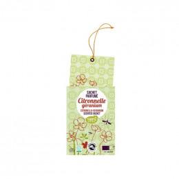 Sachet parfumé : citronnelle géranium