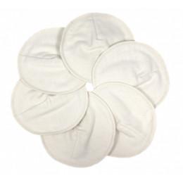 Coussinets d'allaitement préformés en coton organique  - lot de 6