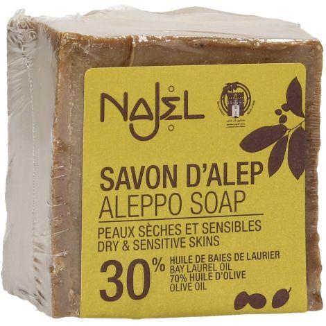 savon d'alep laurier 30