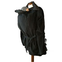 Veste tunique de maternité en laine - Phantom Black #