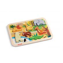 Chunky Puzzle Zoo - à partir de 18 mois