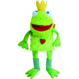 Marionnette - Roi grenouille - à partir de 18 mois