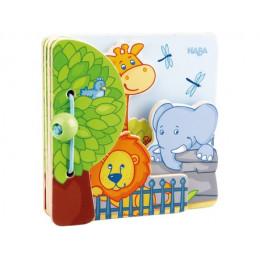 Livre pour bébé - Les amis du zoo - à partir de 10 mois