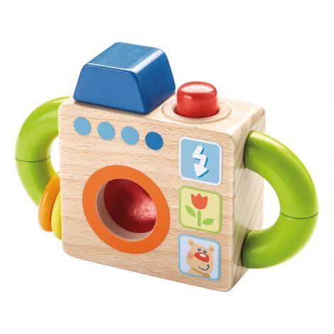 appareil photo pour b b en bois partir de 18 mois sebio. Black Bedroom Furniture Sets. Home Design Ideas