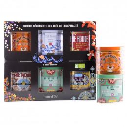Coffret cadeau découverte des thés de l'hospitalité