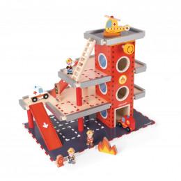 Caserne de pompiers - à partir de 3 ans