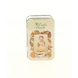 Boite à savon en fer blanc - savonnière