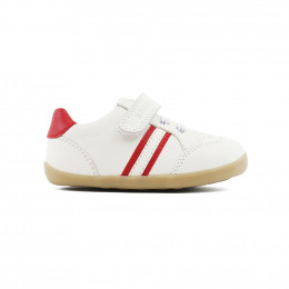 Chaussures Step Up - Trackside White/Red 723710