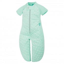 Pyjama transformable en sac de couchage - Léger Mint Cross TOG 1.0 / 8-24 mois