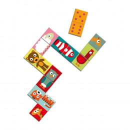 Domino puzzle animaux - A partir de 3 ans