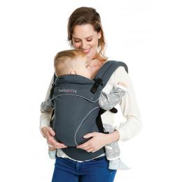 Porte-bébé physiologique préformé Flexia - Gris foncé