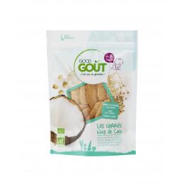 Les carrés Noix de Coco 50 g