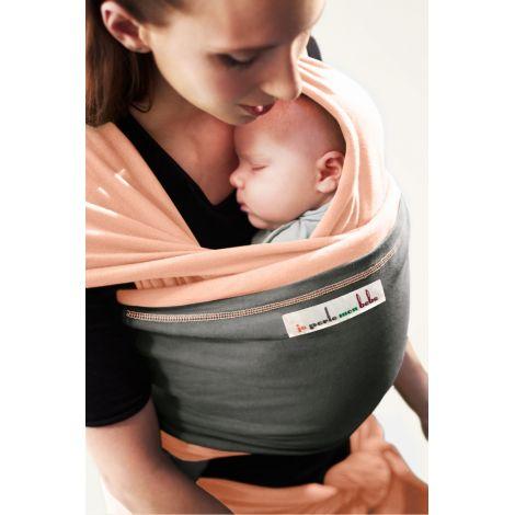 Echarpe porte-bébé - Nude ensolleillé et Eléphant - Sebio ac86f515498