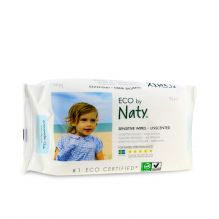Lingettes douces pour bébé - Sans parfum 100% ECO - 56pcs