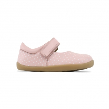 Chaussures Step Up - Mary Jane Rose à pois blancs 727206