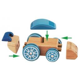 Bloc de construction véhicules -  à partir de 2 ans